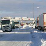 A1 Parijs - Lille dicht door sneeuwval
